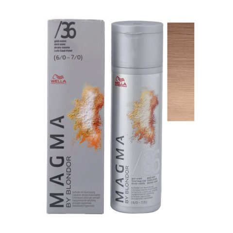 /36 Gold-violett Wella Magma 120gr