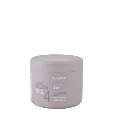 Alfaparf Lisse Design Keratin Therapy 4 Rehydrating Mask 500ml - rehydrierende maske
