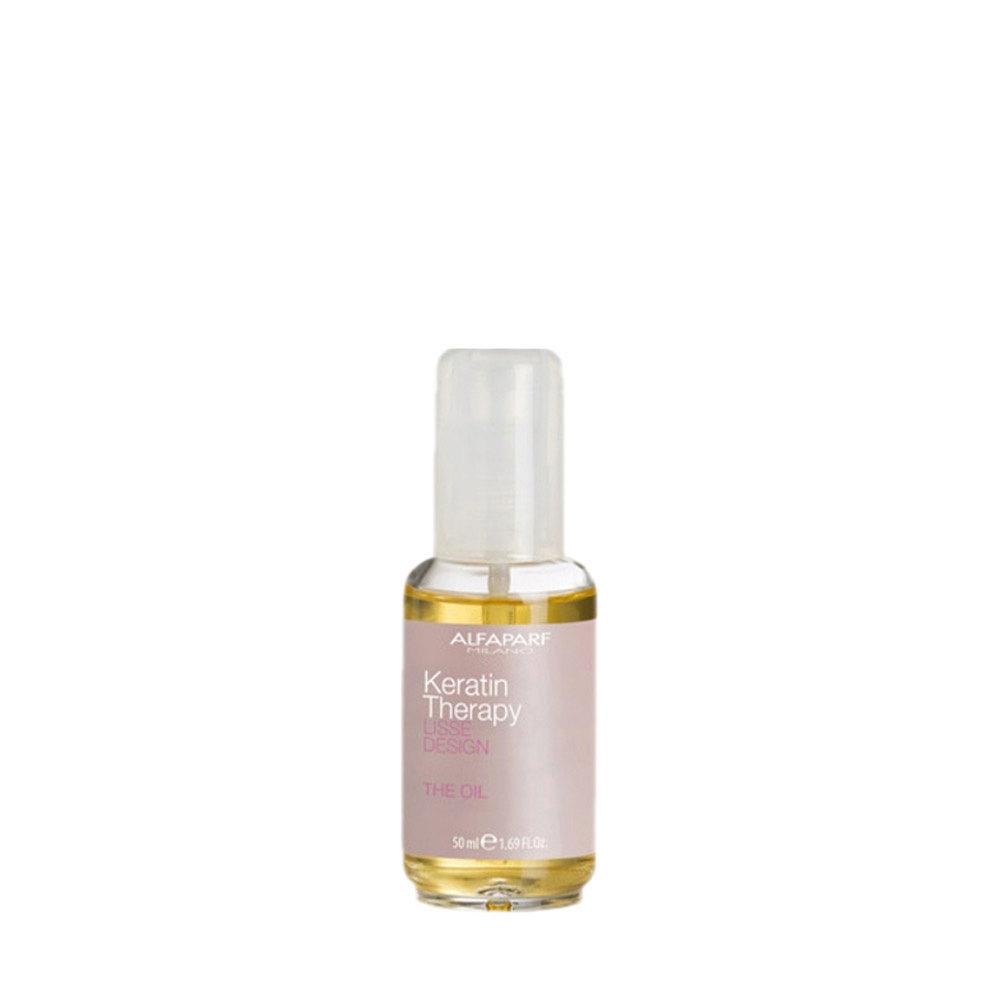 Alfaparf Lisse Design Keratin Therapy The Oil 50ml - Elixir Mit Seideneffekt