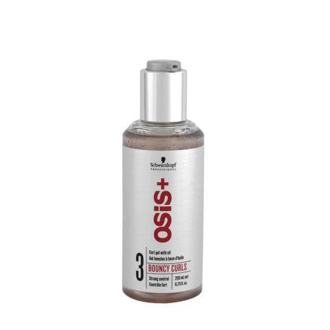 Schwarzkopf Osis Style Bouncy Curls 200ml - Gel für feines bis mittellockes Haar