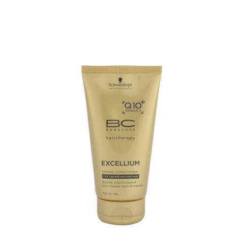 Schwarzkopf BC Excellium Taming Conditioner 150ml - Disziplinierte Behandlung für reife und dicke, gleichmäßige Haare.
