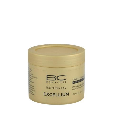 Schwarzkopf BC Excellium Taming Treatment 150ml - Disziplinierte Behandlung für reife und dicke, gleichmäßige Haare.