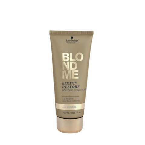 Schwarzkopf Blond Me Keratin Restore Bonding Conditioner 200ml - Balsam Rekonstruktion