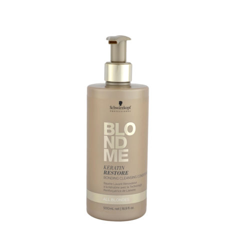 Schwarzkopf Blond Me Keratin Restore Bonding Cleansing Conditioner 500ml