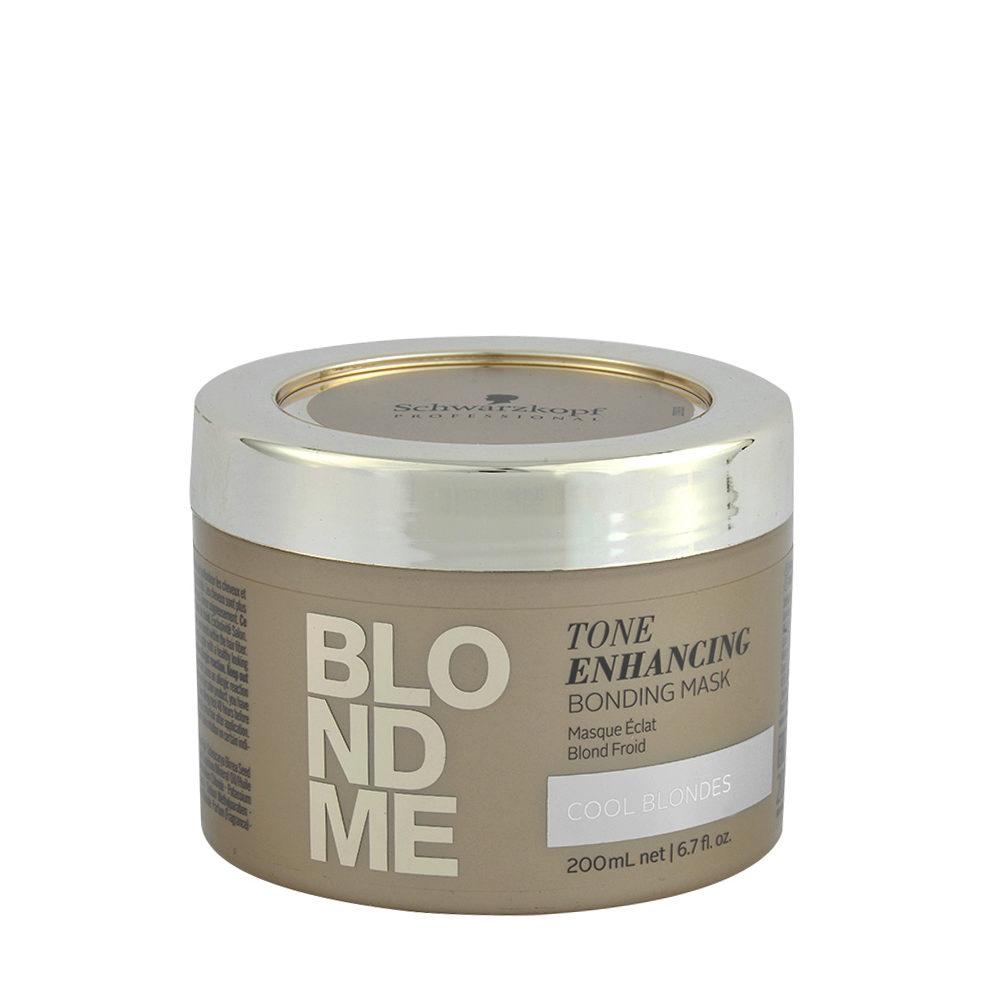 Schwarzkopf Blond Me Tone Enhancing Bonding Mask 200ml - neutralisierende Mask gelbe Töne