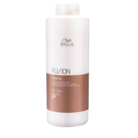 Wella Fusion Shampoo 1000ml - intensives regenerierendes shampoo