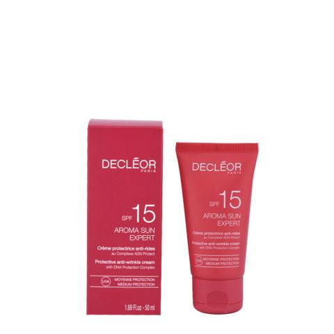 Decléor Aroma Sun Crème Protectrice Anti-rides SPF15, 50ml - schützende Anti-Falten Behandlung