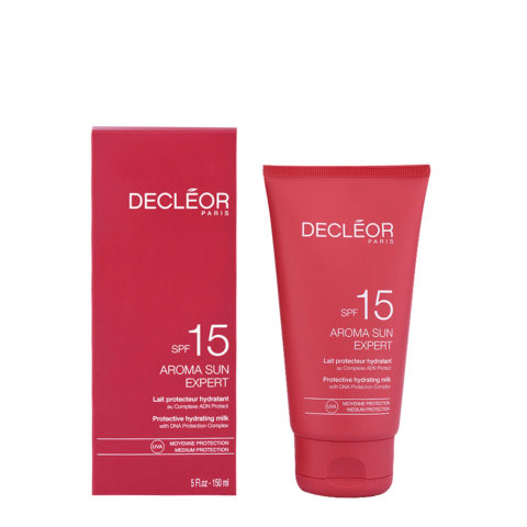 Decléor Aroma Sun Lait Protecteur Hydratant SPF15, 150ml - schützende feuchtigkeitsspendende Körpermilch