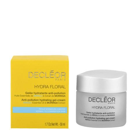 Decléor Hydra Floral Neroli Gelée Hydratante Anti-pollution 50ml - Feuchtigkeitsspendende Gel-Creme
