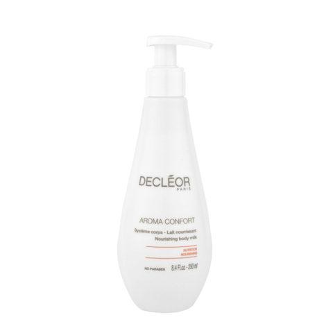 Decléor Aroma Confort Lait Nourissant 250ml - Feuchtigkeit-spendende Körpermilch