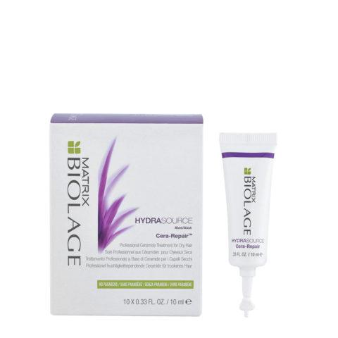 Matrix Biolage Hydrasource Cera-repair 10x10ml - Haarwachs