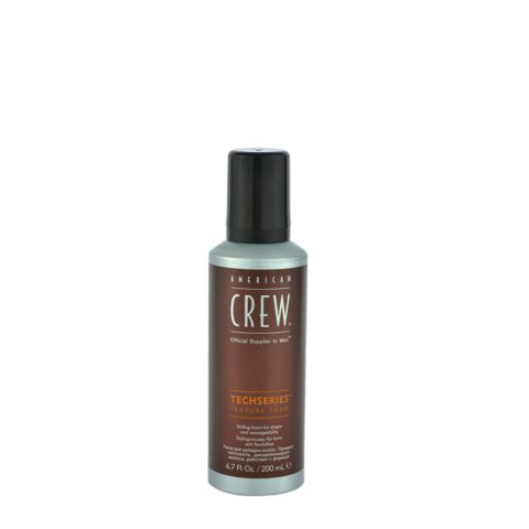 American Crew Styling Techseries Texture Foam 200ml - verdickender Schaum