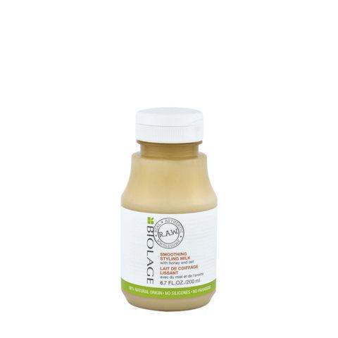 Biolage RAW Smoothing Styling Milk 200ml Antifrizz Haarmilch