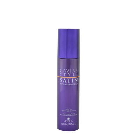 Alterna Caviar Style Satin Rapid Blowout Balm 147ml Vor-styling und Blowout Lotion