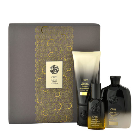Oribe Gold Lust Collection Shampoo 250ml  Conditioner 200ml  Oil 50ml