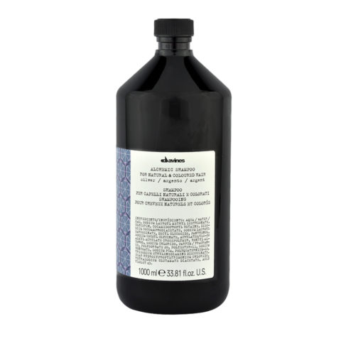 Davines Alchemic Conditioner Silver 1000ml - Intensiviert Platinblondes Conditioner