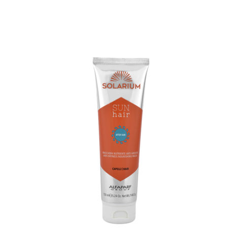 Alfaparf Solarium Sun hair After-sun Anti-Dryness Nourishing mask 150ml after sun nahrende Trockenheit Haarmaske