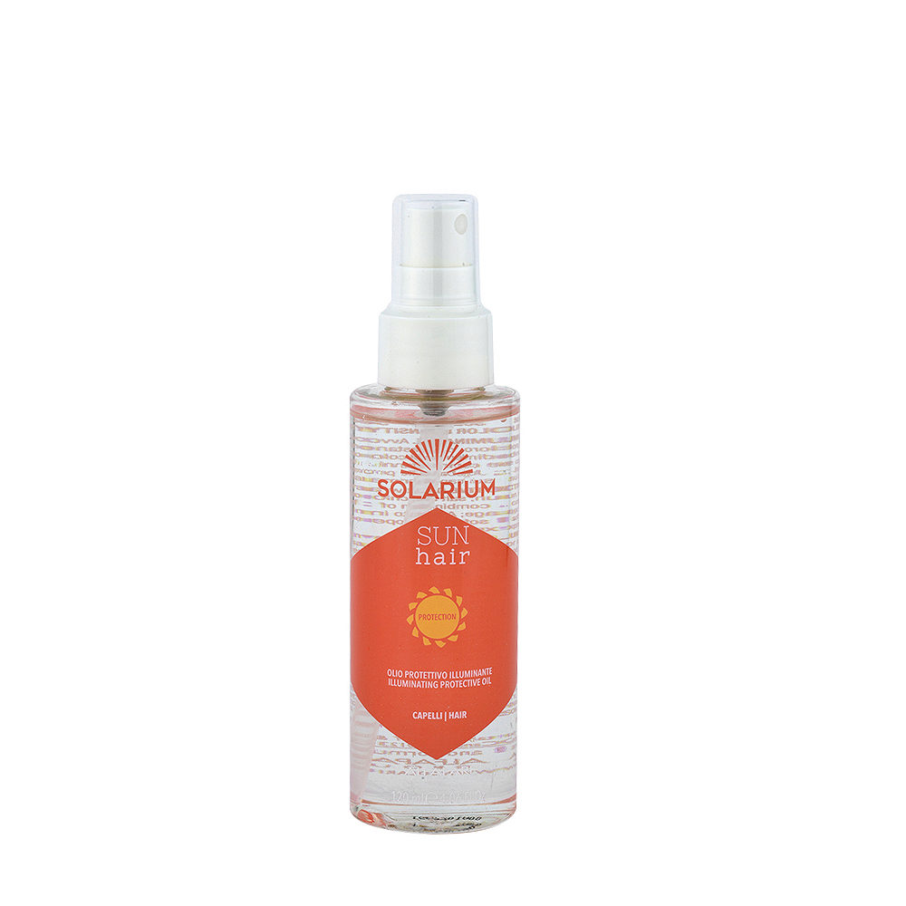 Alfaparf Solarium Sun Hair Protection Illuminating Protective Oil 125ml Sonnen-HaarschutzöL