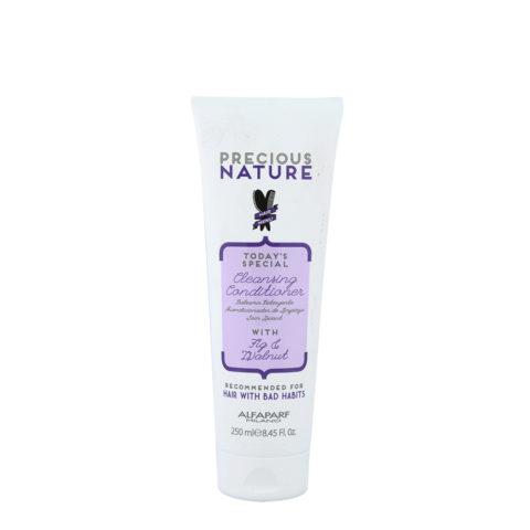 Alfaparf Precious Nature Bad Hair Habits Cleansing Conditioner 250ml - Shampoo Und Umstrukturierung Balsam