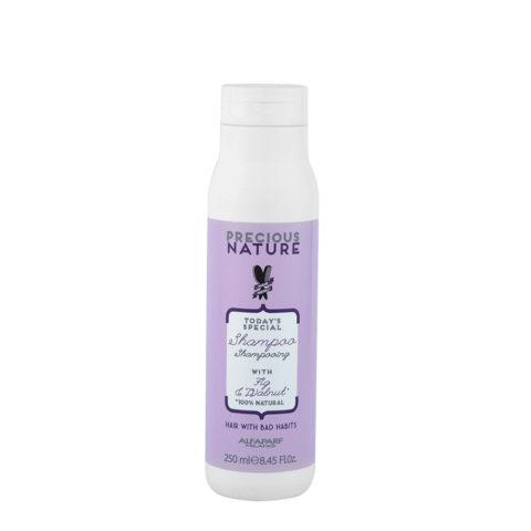 Alfaparf Precious Nature Bad Hair Habits Shampoo 250ml - Restruct System FüR Schwaches Und BrüChiges Haar