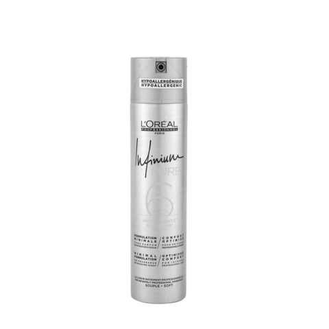 L'Oreal Hairspray Infinium Pure Soft 300ml