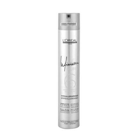 L'Oreal Hairspray Infinium Pure Strong 500ml - geruchloser Lack starker Halt