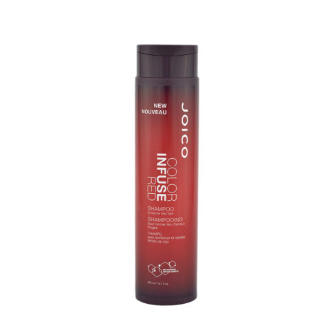 Joico Color Infuse Red Shampoo 300ml - rotes Haarshampoo