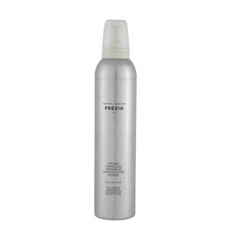 Previa Finish Organic Hydrolized Verbascum Thapsus Flower Mousse 300ml - Schaum ohne Parabene