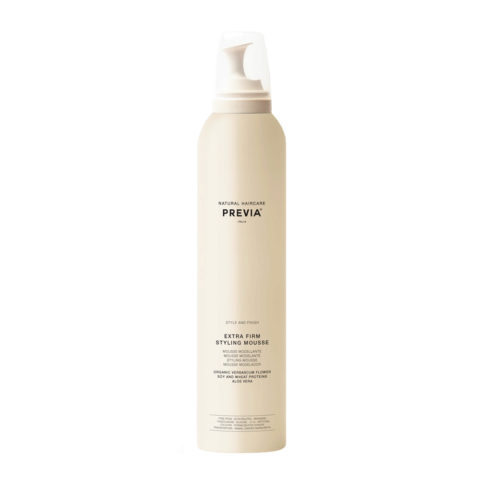 Previa Finish Organic Hydrolized Verbascum Thapsus Flower Mousse 300ml - extra starker Schaum