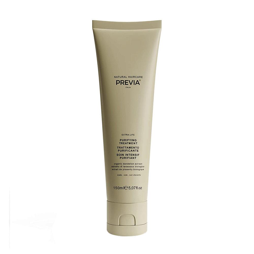 Previa Green Clay Purifying Treatment 150ml - Süßer Reinigungston
