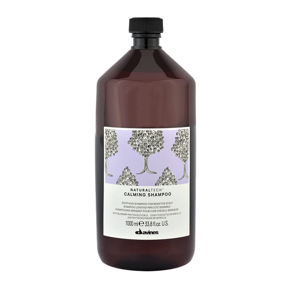 Davines Naturaltech Calming Shampoo 1000ml - Beruhigendes Shampoo