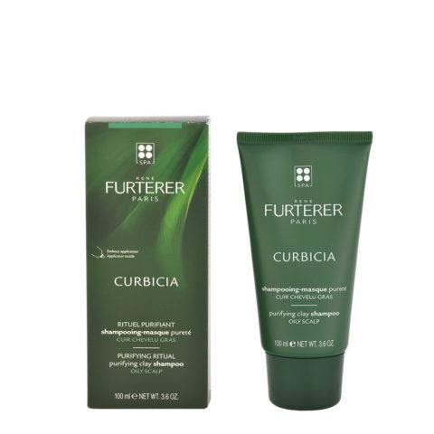 René Furterer Curbicia Purifying Clay Shampoo 100ml - Klärende Shampoo Maske