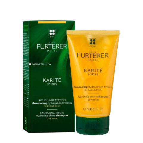 René Furterer Karité Hydrating ritual Shine Shampoo 150ml - Feuchtigkeitsspendendes Shampoo