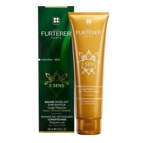 René Furterer 5 Sens Enhancing Detangling Conditioner 150ml - häufig anwendung alle Haartypen
