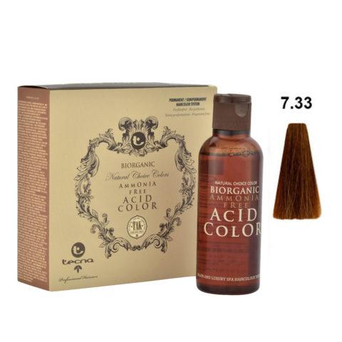 7.33 Goldblond intensiv Tecna NCC Biorganic acid color 3x130ml