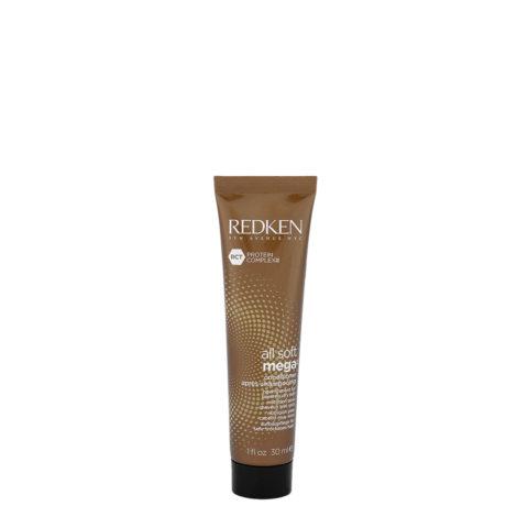 Redken All soft mega Conditioner 30ml - für mittel bis dickem, trockenem Haar