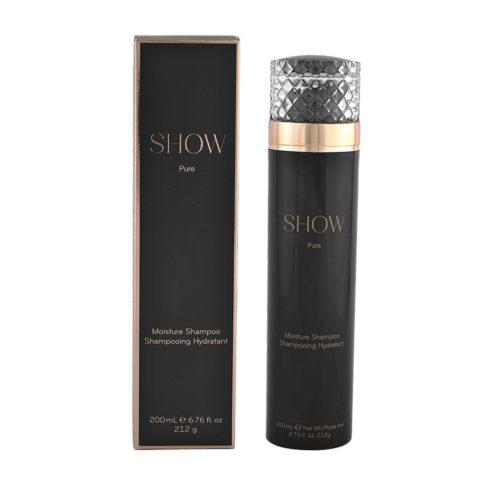 Show Pure Moisture Shampoo 200ml - feuchtigkeitsspendendes Shampoo
