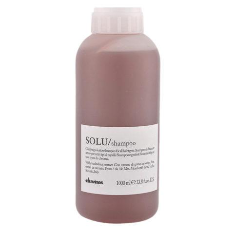 Davines Essential hair care Solu Shampoo 1000ml - Tiefenreinigendes Shampoo