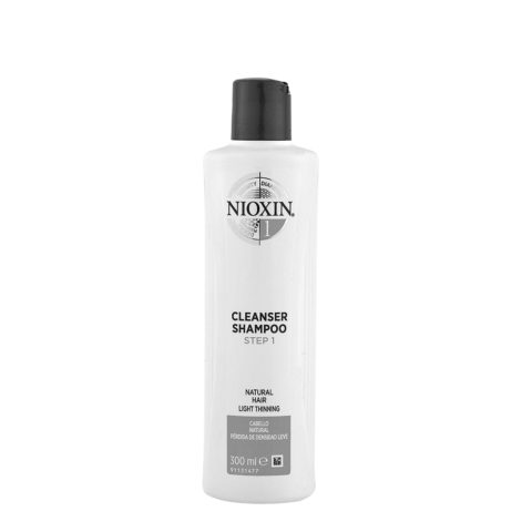 Nioxin System1 Cleanser Shampoo 300ml - Haarausfall Shampoo