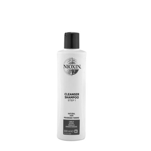 Nioxin System2 Cleanser Shampoo 300ml - Haarausfall Shampoo