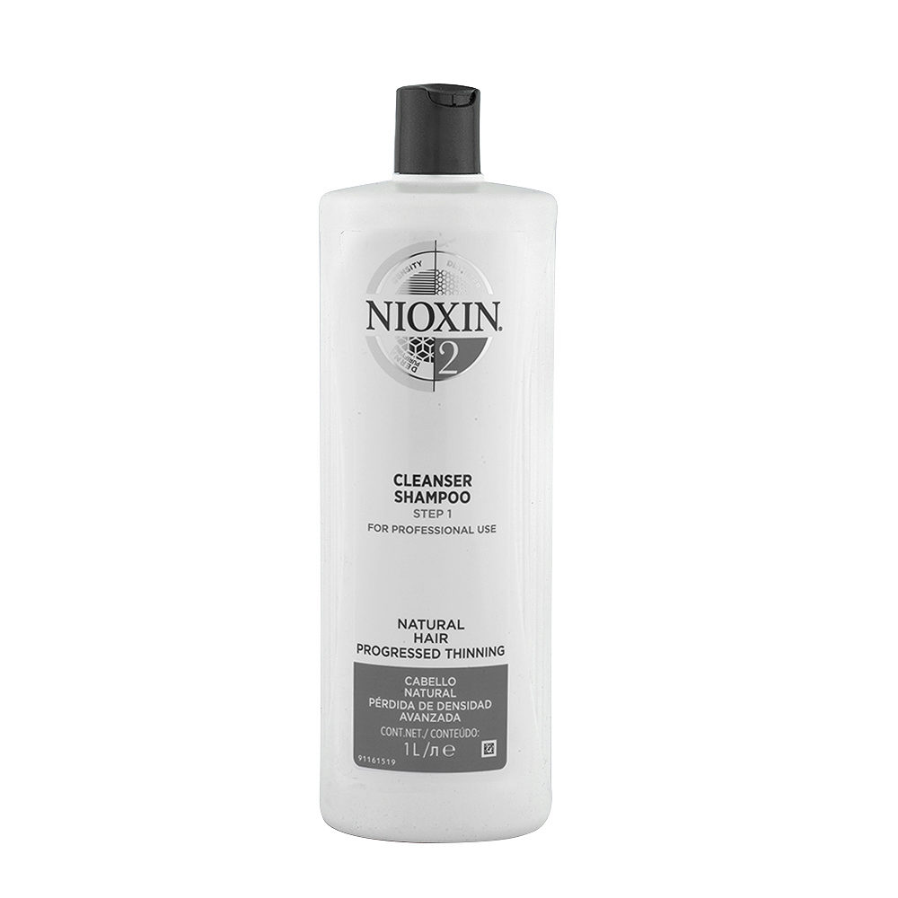 Nioxin System2 Cleanser Shampoo 1000ml - Haarausfall Shampoo