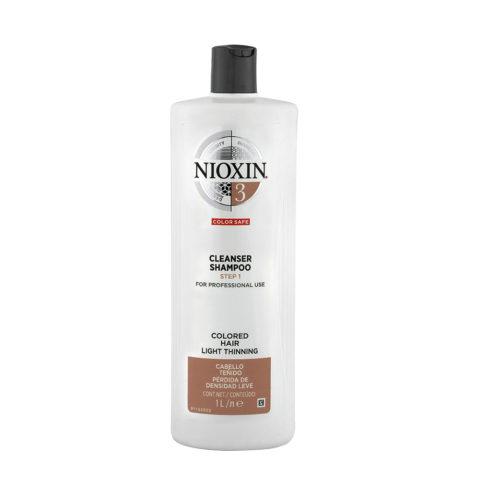Nioxin System3 Cleanser Shampoo 1000ml