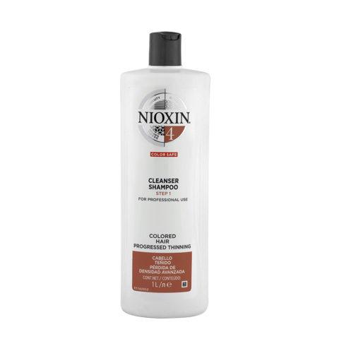 Nioxin System4 Cleanser Shampoo 1000ml