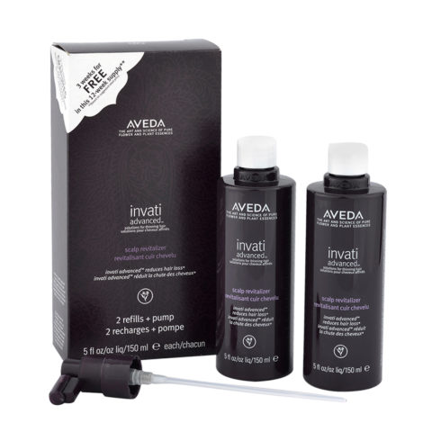 Aveda Invati advanced™ Scalp revitalizer 2x150ml - verstärkende Behandlung für feines Haar