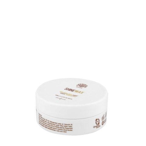 Naturalmente Basic Shine wax 50ml - Glanzspendendes Haarwachs
