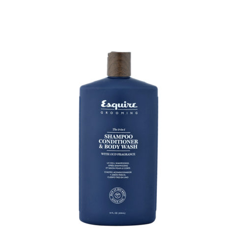 Esquire The 3-in-1 Shampoo Conditioner & Body Wash 414ml - Shampoo Conditioner und Schaumbad