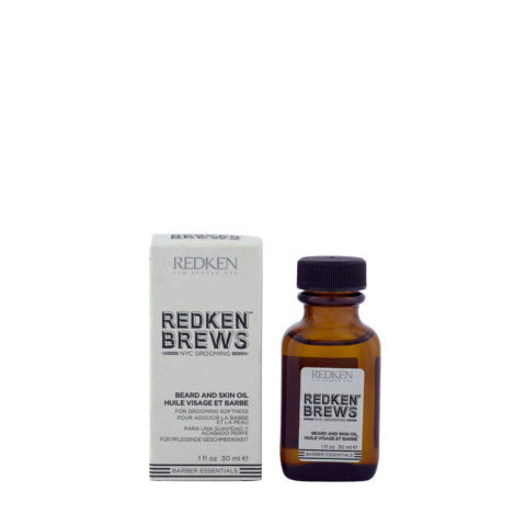 Redken Brews Man Beard and skin oil 30ml - feuchtigkeitsspendendes Öl, Bart und Haut