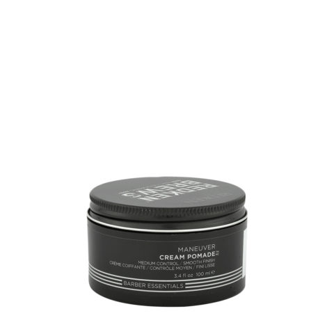 Redken Brews Man Maneuver Cream pomade 100ml - Mittelglattendes Wachs