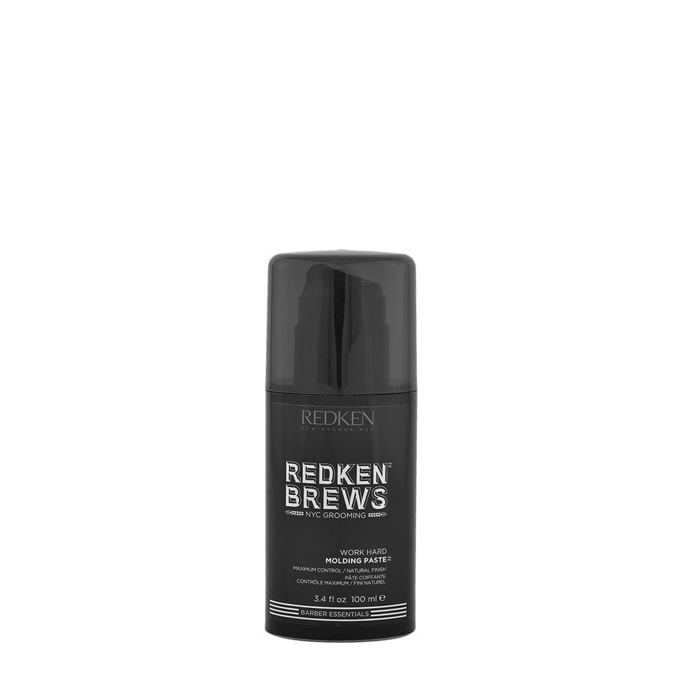 Redken Brews Man Work hard Molding paste 100ml - Haarpaste maximale Kontrolle