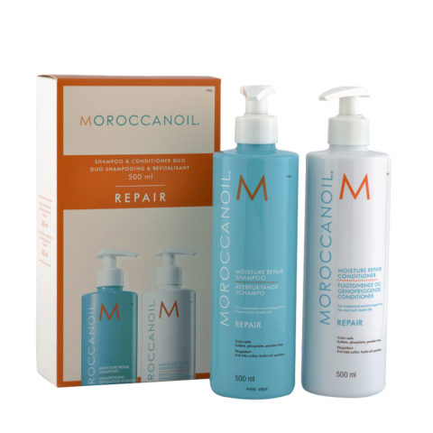 Moroccanoil Kit Moisture repair Shampoo 500ml Conditioner 500ml